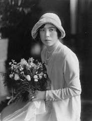 Kazue in 1929.  Click for a high resolution view.